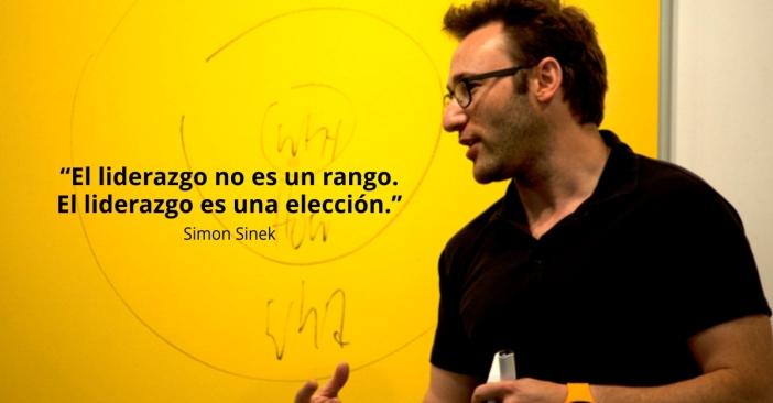 """""""El liderazgo no es un rango. El liderazgo es una elección."""" - Simon Sinek"""